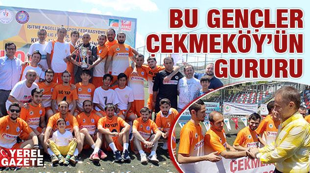 ÇEKMEKÖY'Ü TÜRKİYE SÜPER TOTO FUTBOL 1. LİGİ'NE TAŞIDILAR..
