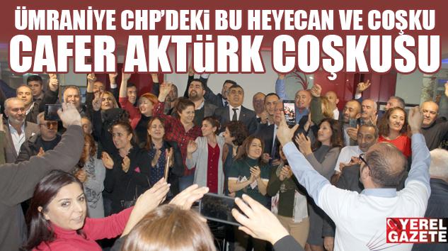 """AKTÜRK; """"HEDEFİMİZ ÜMRANİYE, İSTANBUL VE TÜRKİYE'DE HALKIN İKTİDARI"""""""