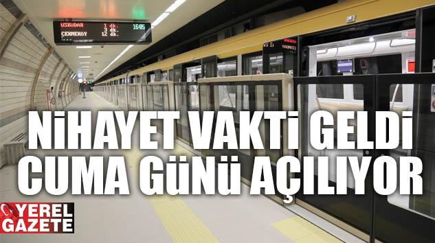 MERAKLA BEKLENEN METRO İÇİN SON 3 GÜNDE GERİ SAYIM BAŞLADI..