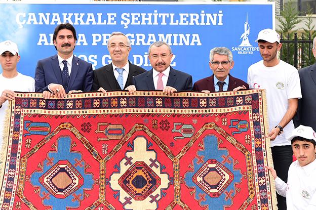 SANCAKTEPE ÇANAKKALE ZAFERİ'Nİ KUTLADI..