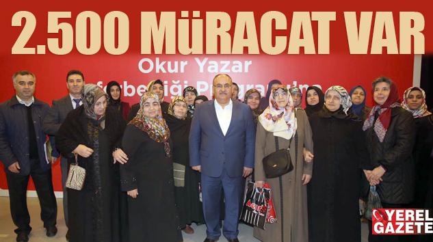 ÜMRANİYE'DE OKUMA YAZMA SEFERBERLİĞİ BAŞLADI..