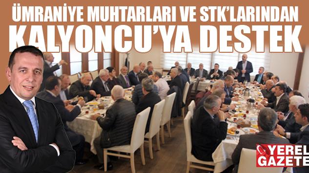 ÜMRANİYE ESNAF ODASI İÇİN HERKES 'KALYONCU' DİYOR..