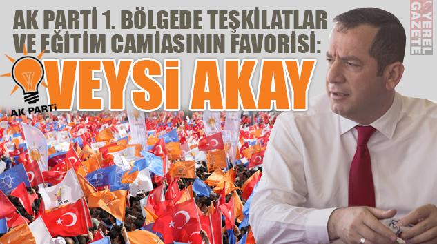 AK PARTİ 1. BÖLGEDE TEŞKİLATLAR VE EĞİTİM CAMİASININ FAVORİSİ..