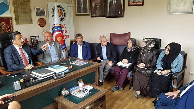 ADI 'TİNERCİ' VE 'BONZAİCİ' MAHALLESİ'NE ÇIKAN DUDULLU GÜNDEMDE..