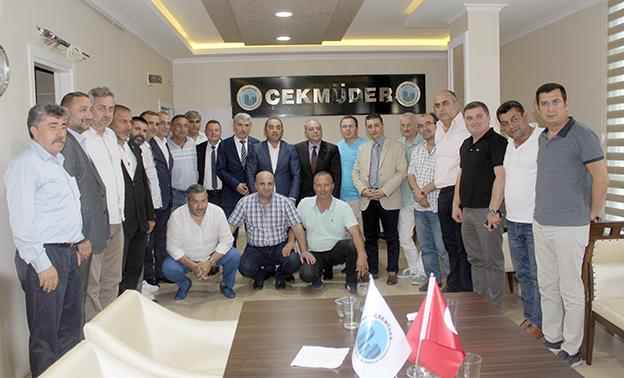 ÇEKMÜDER, MHP ADAYLARI VE HEYETİNİ AĞIRLADI..