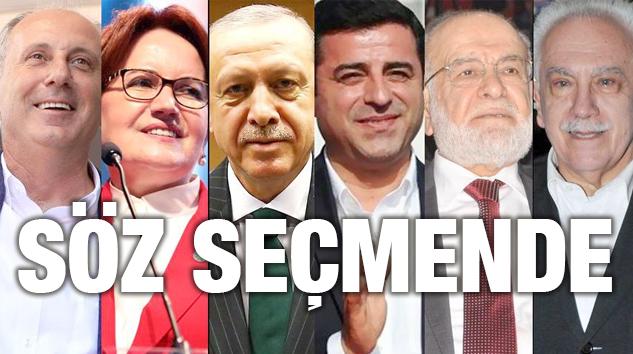 24 HAZİRAN SEÇİMLERİNE YÖNELİK MERAK EDİLEN AYRINTILAR..