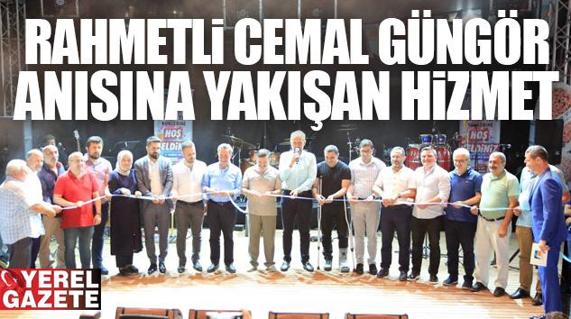 ÇEKMEKÖY'DE RAHMETLİ CEMAL GÜNGÖR ANISINA YAKIŞAN HİZMET..