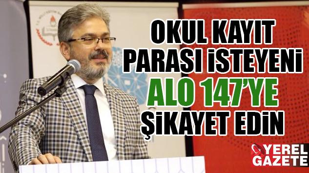 İSTANBUL İL MİLLİ EĞİTİM MÜDÜRÜ YELKENCİ, VELİLERİ UYARDI..
