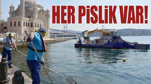 İSTANBUL'UN DENİZ TEMİZLİĞİNE YAZ SEZONUNDA EK ÖNLEM..