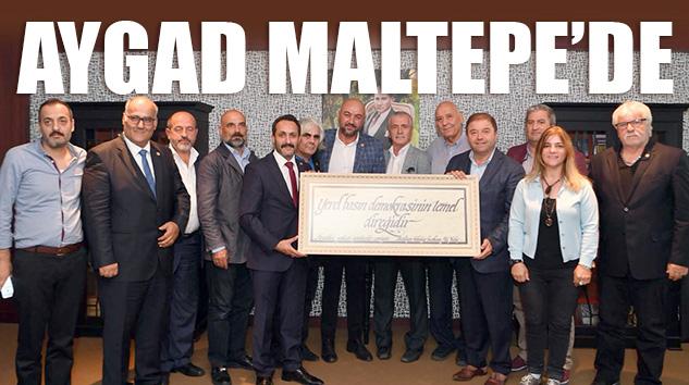 AYGAD'DAN MALTEPE'YE ÜST DÜZEY ZİYARETLER..