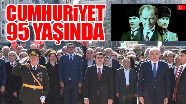HER YERDE DALGA DALGA 29 EKİM COŞKUSU YAŞANIYOR..