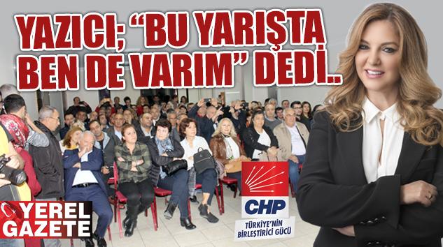 NEVİN YAZICI CHP'DEN ÇEKMEKÖY BELEDİYE BAŞKAN ADAY ADAYI..