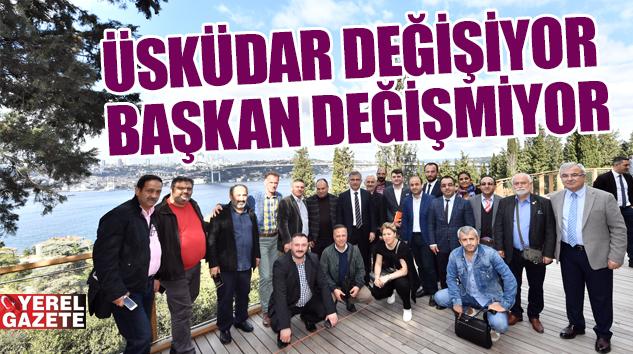 BAŞKAN TÜRKMEN, YEREL BASINA GÖZDE PROJELERİ YERİNDE ANLATTI..