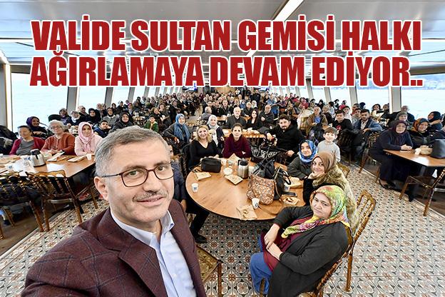 ÜSKÜDAR MAHALLE SAKİNLERİ BOĞAZ TURUNDA BULUŞUYOR..