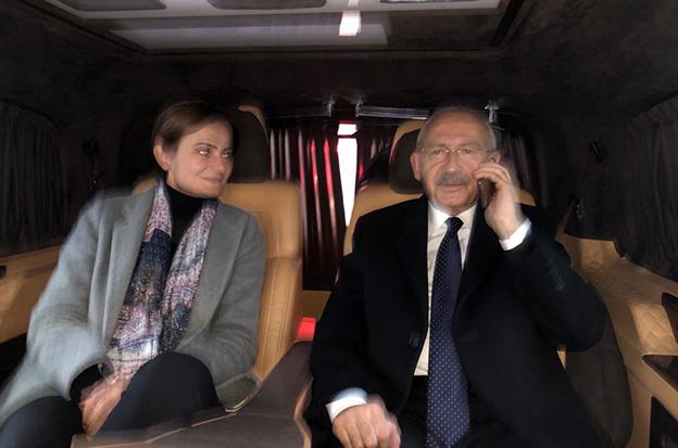 KILIÇDAROĞLU'NDAN TEBRİK TELEFONU..