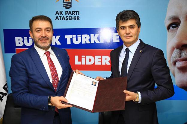 MEHMET GENÇ ATAŞEHİR'DEN ADAY ADAYI..