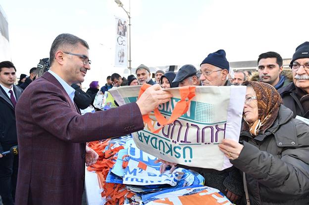 ÜSKÜDAR'DA ÖRNEK GERİ DÖNÜŞÜM SEFERBERLİĞİ BAŞLADI!