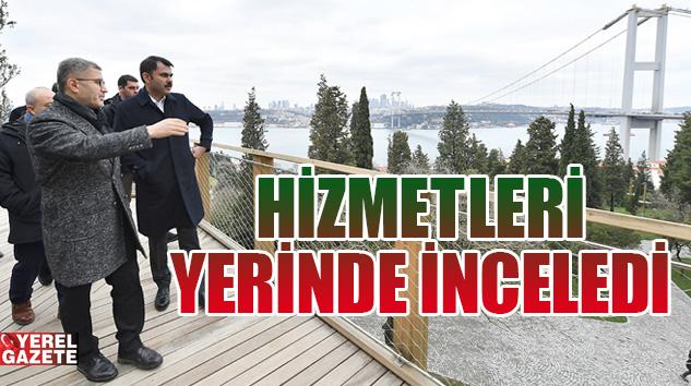ÇEVRE VE ŞEHİRCİLİK BAKANI MURAT KURUM ÜSKÜDAR'DA..