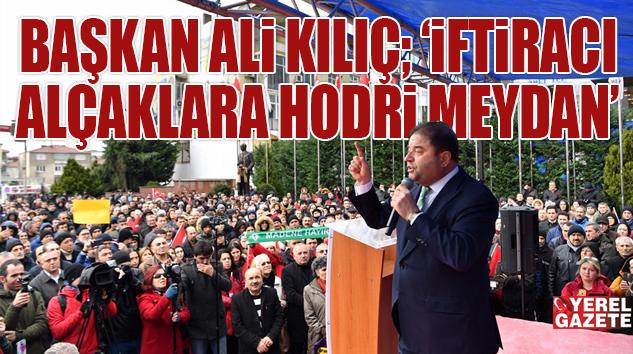"""""""HEPSİYLE YARGI ÖNÜNDE HESAPLAŞMAYA DEVAM EDECEĞİM.."""""""