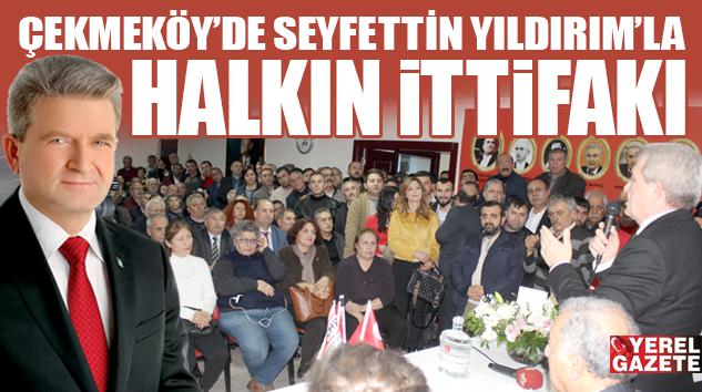 ÇEKMEKÖY'DE 31 MART'A GERİ SAYIMIN STARTI VERİLDİ..