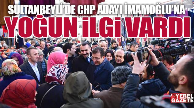 ESNAF ODALARI'NI ZİYARET EDİP, ÇARŞI PAZAR GEZDİ..