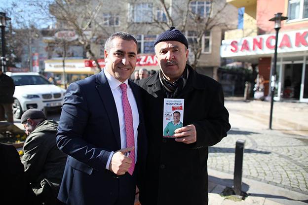 """ÖZGEN NAMA; """"BİZ HAZIRIZ, SANCAKTEPE DE HAZIR!"""""""
