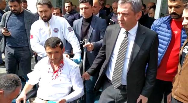 DP MECLİS ÜYESİ ADAYI DÖNMEZ'E SALDIRI..