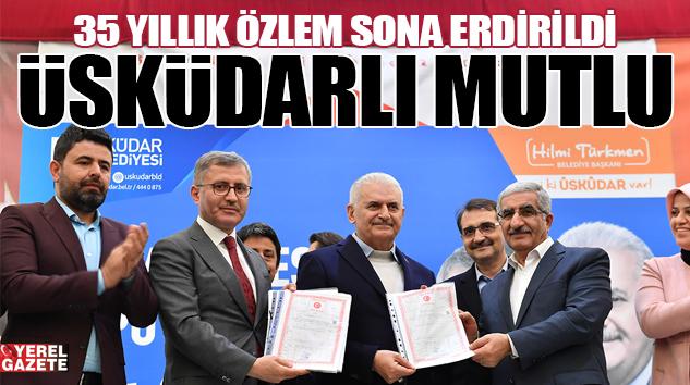 ÜSKÜDAR ATA-2 SİTESİ TAPULARINA KAVUŞTU..