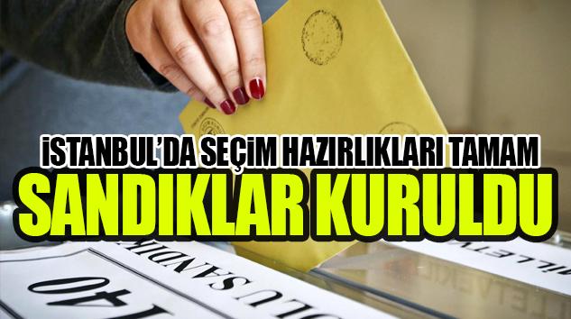 YEREL YÖNETİCİLERİ SEÇMEK İÇİN SANDIK BAŞINA..