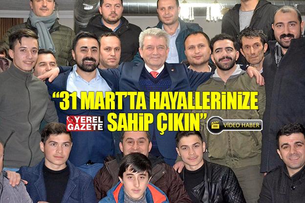 SEYFETTİN YILDIRIM'DAN ÇEKMEKÖY GENÇLİĞİNE ÖNEMLİ MESAJ VAR..