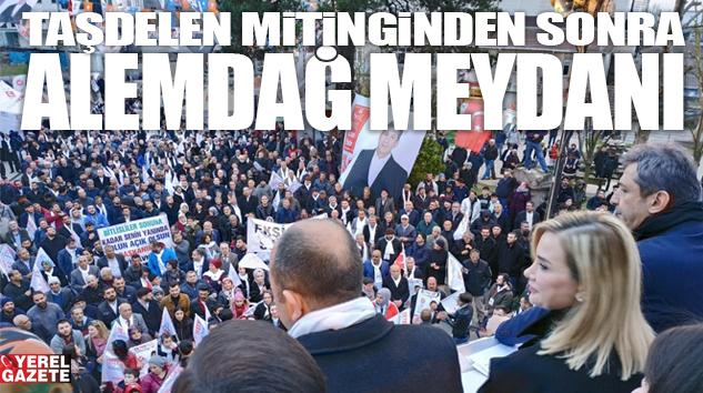 ÇEKMEKÖY'DE SİPAHİ COŞKUSU MEYDANLARI DOLDURUYOR..