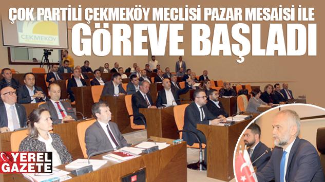 AK PARTİ, CHP, MHP, İYİ PARTİ VE DP'Lİ RENKLİ MECLİS..