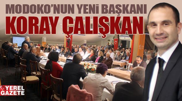 MODOKO'DA GENÇLİK HAREKETİ ADAYI KORAY ÇALIŞKAN KAZANDI..