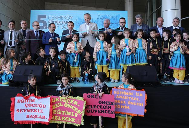 ÇEKMEKÖY KÜLTÜR SANAT HAFTASI BAŞLADI..