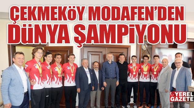 DÜNYA ŞAMPİYONU ÇEKMEKÖY'DEN..