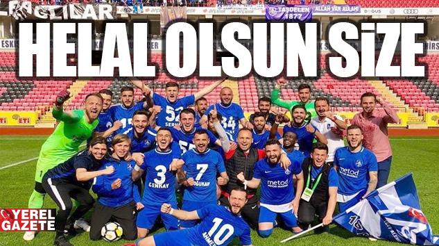 ÇEKMEKÖY'ÜN GURURU 1877 ALEMDAĞSPOR 3. LİG'TE..