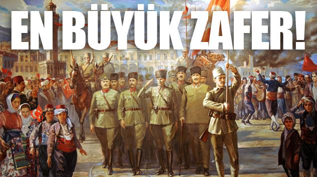 ŞANLI ZAFERİN 97. YILI BU YIL DAHA BÜYÜK COŞKUYLA KUTLANIYOR..