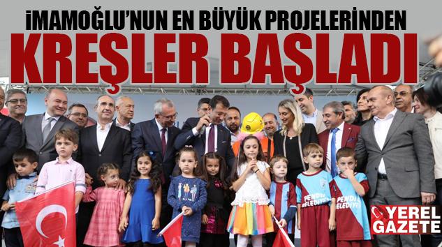 'YUVAMIZ İSTANBUL' SLOGANIYLA 150 MAHALLEYE 150 KREŞ…