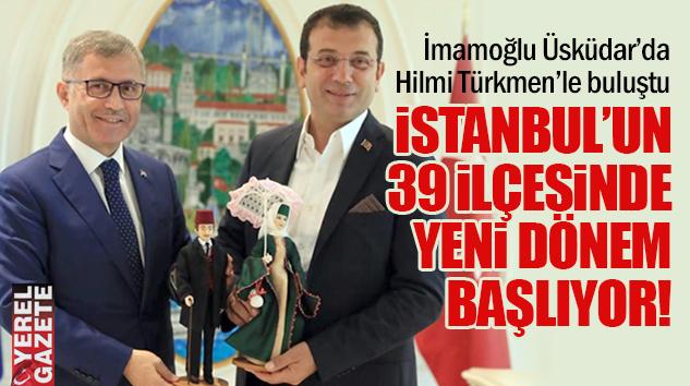 HİZMET İÇİN ORTAK AKILLA ORTAK MASALARIN İLKİ ÜSKÜDAR'DA KURULDU..
