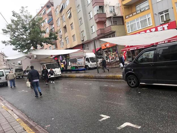 ÜMRANİYE'DE PAZAR KRİZİ DERİNLEŞİYOR..