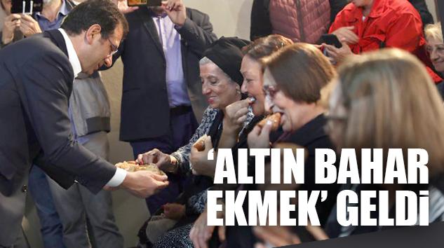 """'ALTIN BAHAR'I TANITAN İMAMOĞLU; """"BİLİMDEN SONUNA KADAR FAYDALANACAĞIZ"""""""