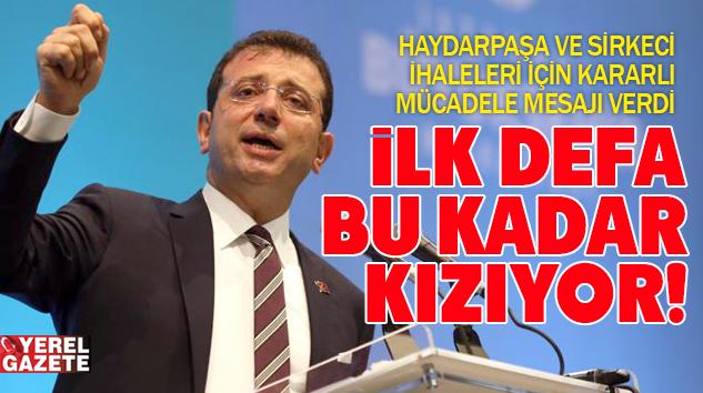 """MUHTARLARLA BULUŞAN İMAMOĞLU; """"İSTANBUL ADINA ÇOK ÖFKELİYİM!"""""""