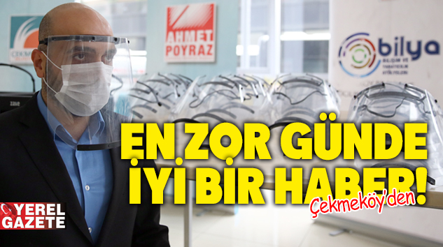 3D YAZICILARLA MASKE ÜRETİMİNE BAŞLANDI..