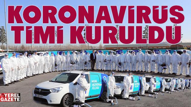 """İMAMOĞLU, İBB'NİN """"CORONAVİRÜS TİMİ""""Nİ TANITTI.."""