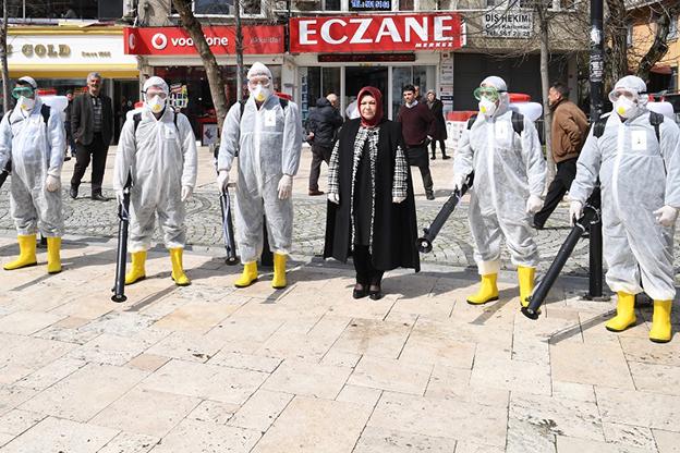"""""""SANCAKTEPE'DE PANİK YOK,TEDBİR VAR.."""""""