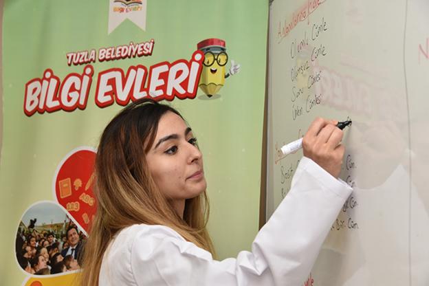 TUZLA'DA EVLERE BİLGİ SERVİSİ..
