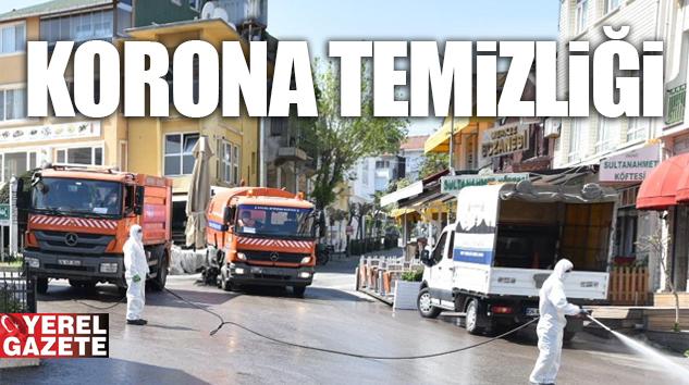 ADALAR'DA TEMİZLİK ÇALIŞMALARI SÜRÜYOR..