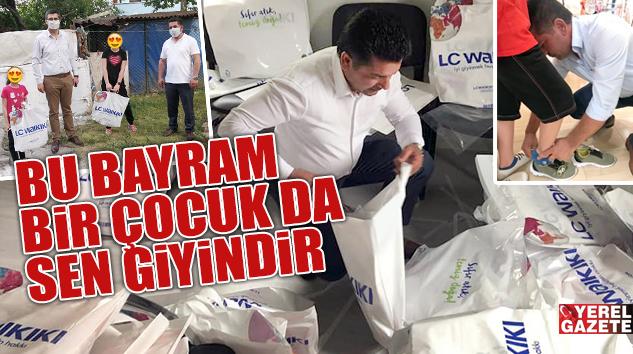 SULTANÇİFTLİĞİ ÇOCUKLARINA ÇİFTE BAYRAM SEVİNCİ..