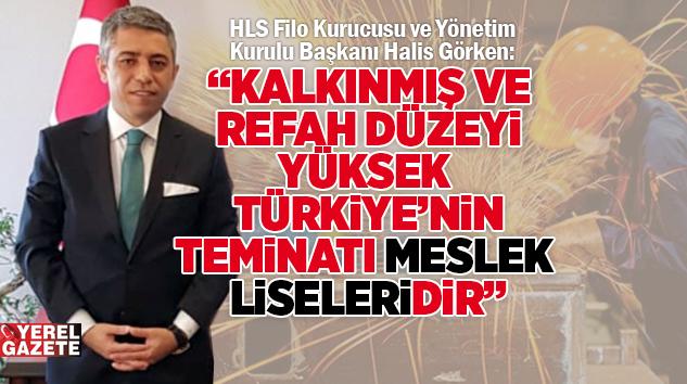"""""""MESLEK LİSESİ MEZUNLARI ARA ELEMAN DEĞİL, NİTELİKLİ İŞGÜCÜDÜR.."""""""