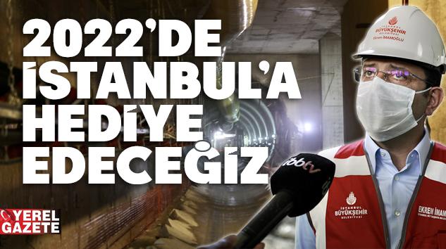 """İMAMOĞLU'NDAN """"ÜMRANİYE-GÖZTEPE METROSU"""" MÜJDESİ.."""